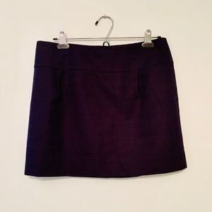 J. Crew Navy Blue Mini Skirt - Size 6